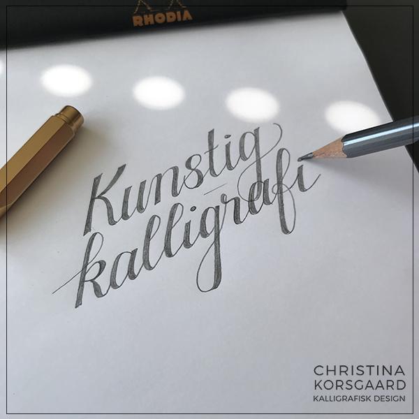 Lær falsk kalligrafi